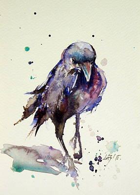 Crow Poster by Kovacs Anna Brigitta