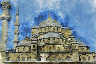 Hagia Sophia In Istanbul Turkey Poster by Brandon Bourdages