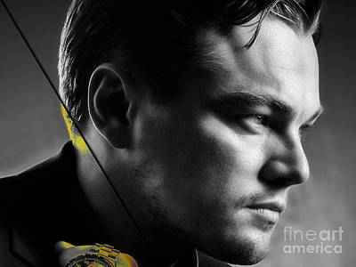 Leonardo Dicaprio Collection Poster by Marvin Blaine