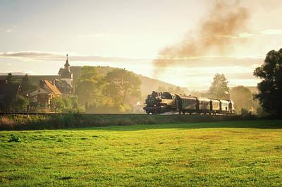 Locomotive Poster by Steffen Gierok