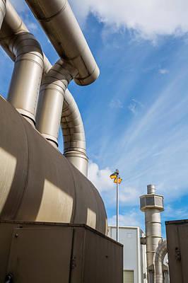 Pipes At Nesjavellir Geothermal Power Poster