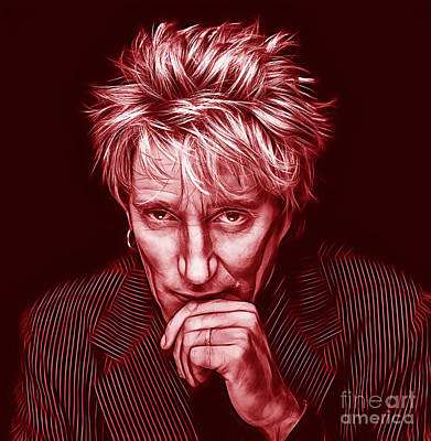 Rod Stewart Collection Poster