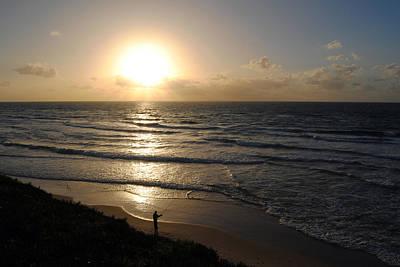 Sunset At Jaffa Beach 5 Poster