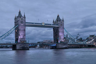 Tower Bridge - London Poster by Joana Kruse