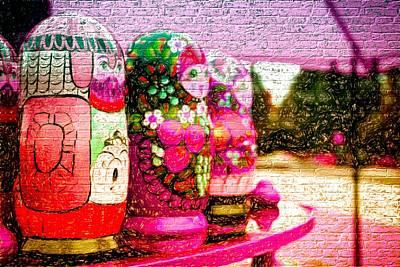 Russian Matrushka Dolls Wall Art Poster