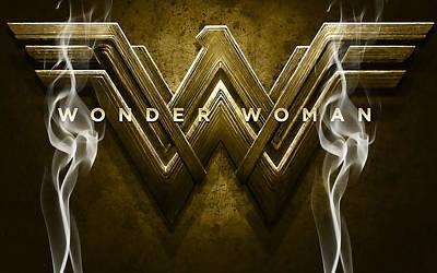 Wonder Woman Art Poster