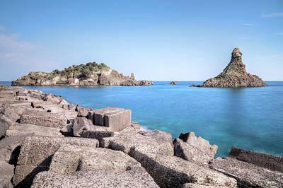 Aci Trezza - Sicily Poster