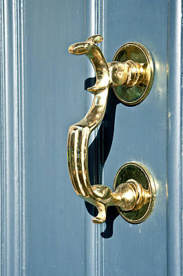 Door Handle Poster by Tom Gowanlock