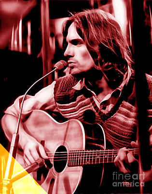 James Taylor Collection Poster by Marvin Blaine