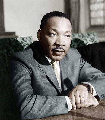 Martin Luther King Jr Poster by American School