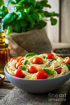 Pasta With Olive Oil  Poster