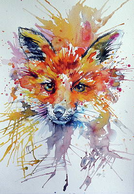 Red Fox Poster by Kovacs Anna Brigitta
