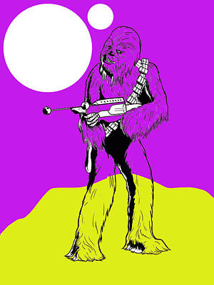 Star Wars Chewbacca Collection Poster