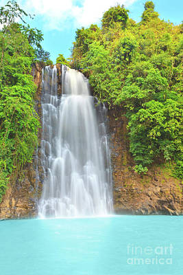 Waterfall Poster by MotHaiBaPhoto Prints
