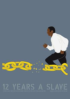 12 Years A Slave Poster by Gimbri