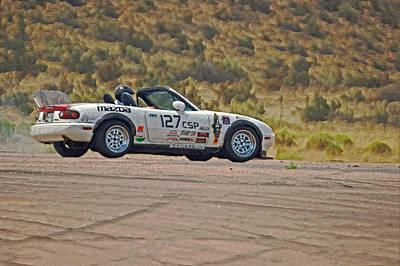 127 Mazda Artistic Poster by Ernie Echols