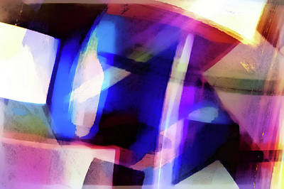 Abstract Background  Poster by Tom Gowanlock