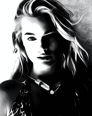 Beautiful Actress Margot Robbie Poster