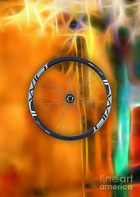 Bicycle Wheel Collection Poster