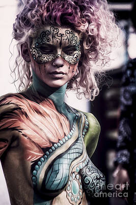 Bodypainting Poster by Traven Milovich