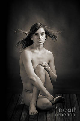 Claudia Nude Fine Art Print In Sensual Sexy Black And White Or S Poster