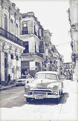 Havana Cuba Poster by Chris Andruskiewicz