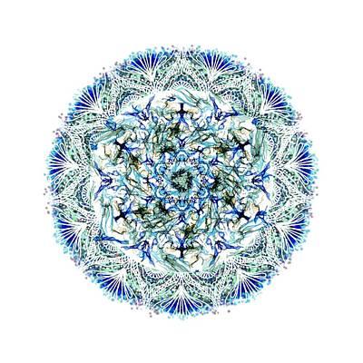 Mandala Flower Poster