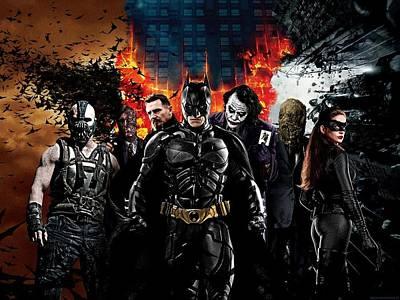 The Dark Knight Rises 2012  Poster