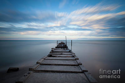 1393 Atwater Beach Jetty Poster
