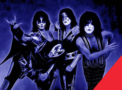 Kiss Collection Poster by Marvin Blaine