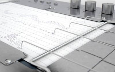 Polygraph Lie Detector Machine Poster