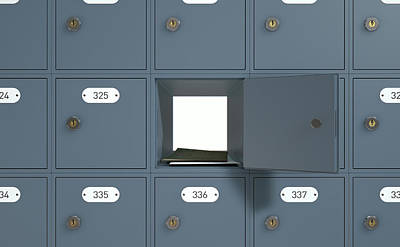 Post Office Boxes Poster