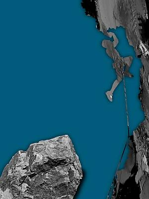 Rock Climber Collection Poster