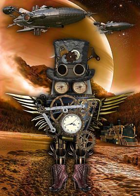Steampunk Art Poster