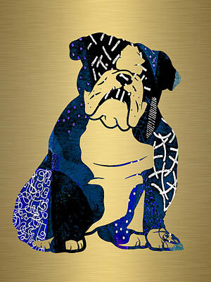 English Bulldog Collection Poster by Marvin Blaine