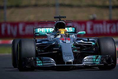 Lewis Hamilton Formula 1 Poster