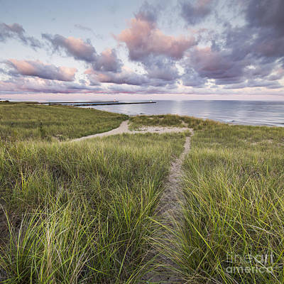 Onekama Shoreline Poster by Twenty Two North Photography