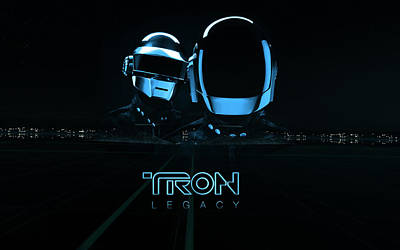 15548 Tron Legacy Poster