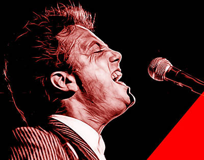 Billy Joel Collection Poster by Marvin Blaine