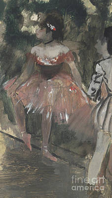 Dancers Poster by Edgar Degas