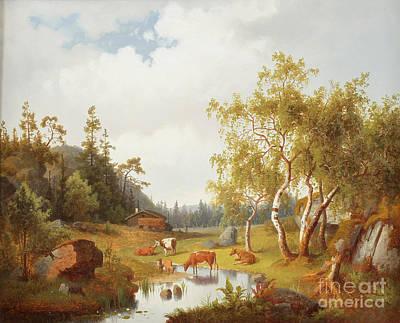 Landscape Poster by Celestial Images