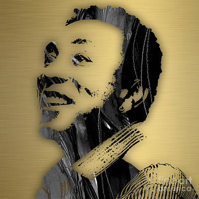 Smokey Robinson Collection Poster by Marvin Blaine