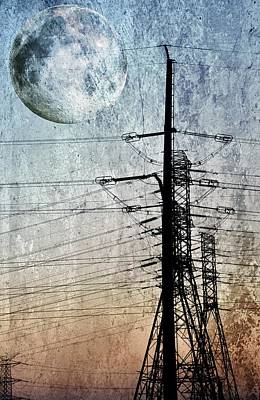 Electric Power Transmission... Poster by Werner Lehmann