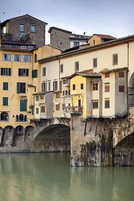 Ponte Vecchio Poster by Andre Goncalves