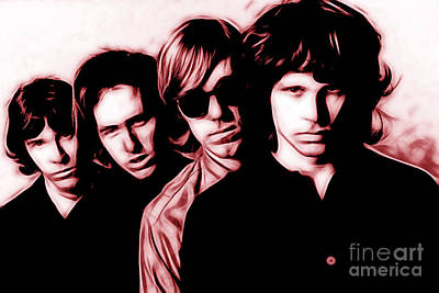 The Doors Collection Poster by Marvin Blaine
