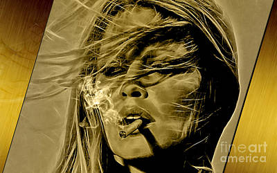 Brigitte Bardot Collection Poster