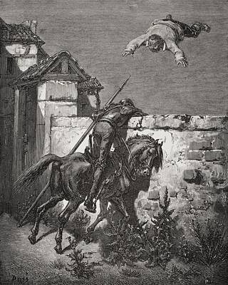 Engraving By Gustave Dore 1832-1883 Poster