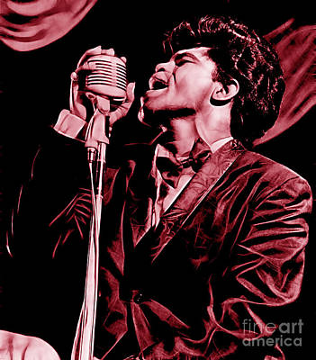 James Brown Collection Poster by Marvin Blaine