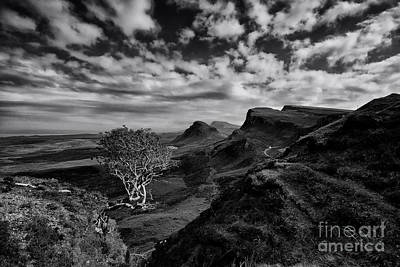The Quiraing Poster by Nichola Denny