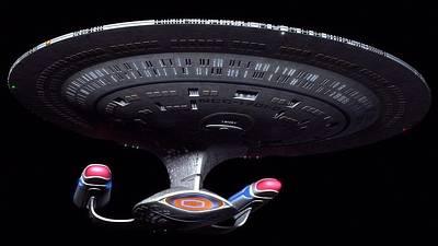 18661 Star Trek Star Trek Enterprise Poster by F S